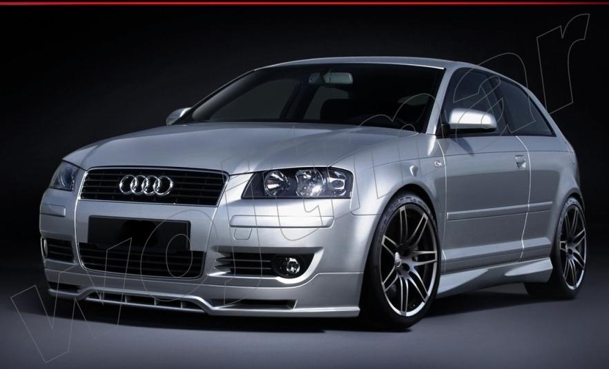 Spojlery Audi A3 8p Wojtmar Tuning