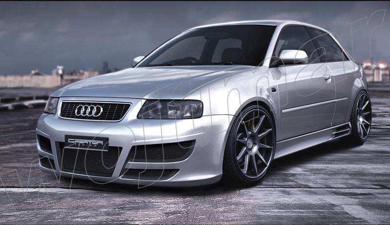 Spojlery Audi A3 8l Wojtmar Tuning