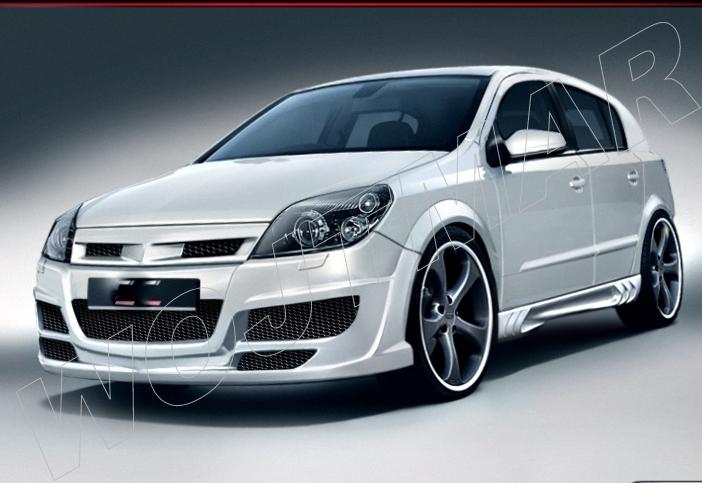 Spojlery Opel Astra H Wojtmar Tuning